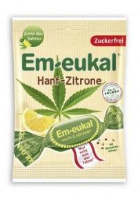 SOLDAN EM-EUKAL Hanf-Zitrone zuckerfrei 75 g