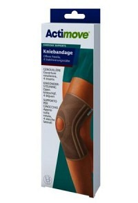 ACTIMOVE Everyday Support Kniebandage XL off Patel