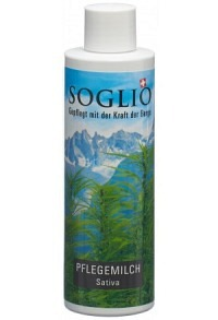 SOGLIO Pflegemilch Sativa Fl 200 ml