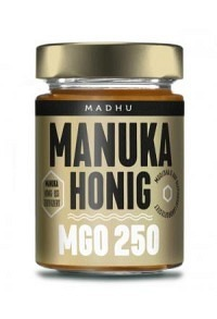 MADHU HONEY Manuka Honig MGO250 Glas 250 g