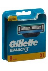 GILLETTE Mach3 Systemklingen (neu) 8 Stk