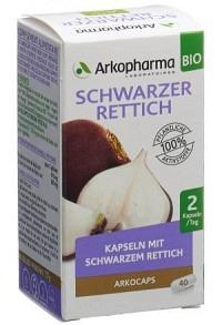 ARKOCAPS Schwarzer Rettich Kaps Bio Ds 40 Stk