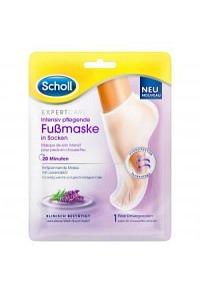 SCHOLL Intensiv pfleg Fussmaske Lavendelöl 2 Stk