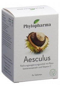 PHYTOPHARMA Aesculus Tabl Ds 80 Stk