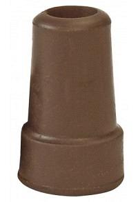 OSSENBERG Kapsel für Metallstöcke 16mm braun