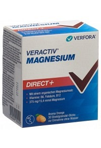 VERACTIV Magnesium Direct+ Stick 30 Stk