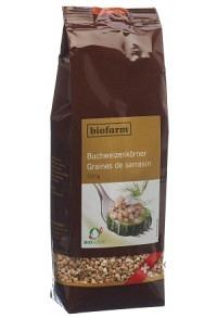BIOFARM Buchweizenkörner Knospe CH Btl 500 g