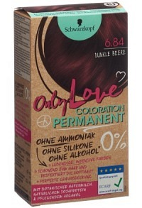 ONLY LOVE 6.84 dunkle Beere
