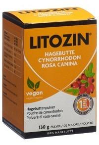 LITOZIN Hagebuttenpulver Ds 130 g