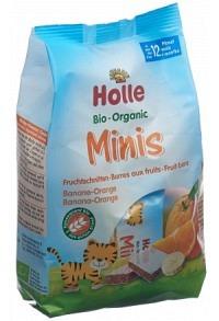 HOLLE Bio-Minis Banane Orange Btl 100 g
