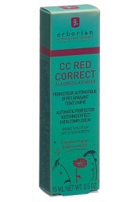 ERBORIAN KOREAN THER CC Red Correct 15 ml
