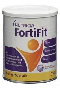 FORTIFIT Plv Vanille Ds 280 g