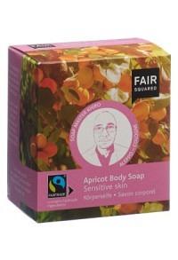 FAIR SQUARED Body Soap Apric Sens Skin 2 x 80 g