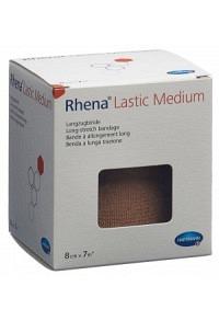 RHENA Lastic Medium 8cmx7m hautfarbig