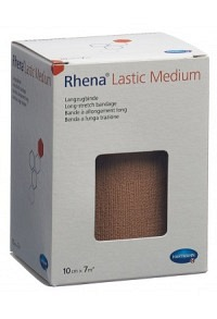 RHENA Lastic Medium 10cmx7m hautfarbig