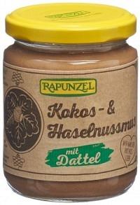 RAPUNZEL Kokos-Haselnussmus mit Dattel Glas 250 g