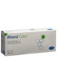 RHENA Color Elast Binde 8cmx5m grün offen 10 Stk