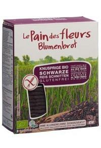 BLUMENBROT Knusprige Schnitten Schwarz Reis 150 g