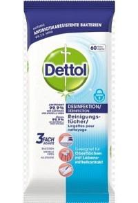DETTOL Desinfektions Reinigungtücher 60 Stk