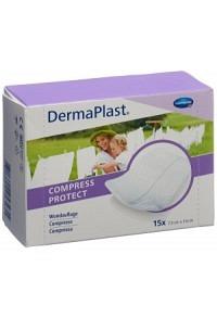 DERMAPLAST Compress Protect 7.5x10cm 15 Stk