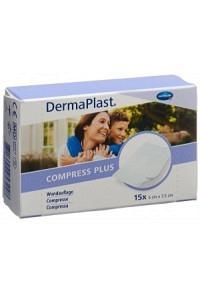 DERMAPLAST Compress Plus 5x7.5cm 15 Stk