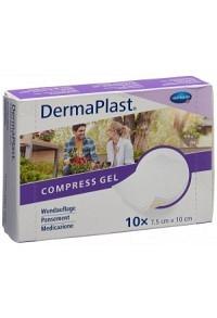 DERMAPLAST Compress Gel 7.5x10cm 10 Stk