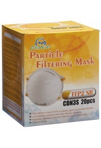 CHANGHUNG Atemschutzmaske FFP2 ohne Ventil 20 Stk