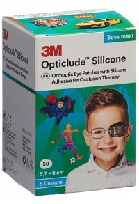 3M OPTICLUDE Sil Augenv 5.7x8cm Maxi Bo (n) 50 Stk