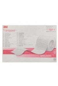 3M TRANSPORE Rollenpfl 25mmx9.14m trans (n) 12 Stk