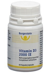 BURGERSTEIN Vitamin D3 Kaps 2000 IE Ds 60 Stk