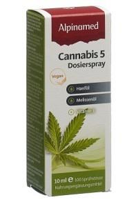ALPINAMED Cannabis 5 Dosierspr 10 ml