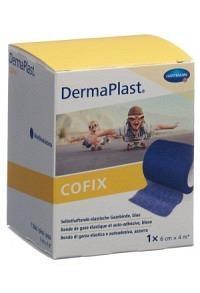 DERMAPLAST CoFix 6cmx4m blau