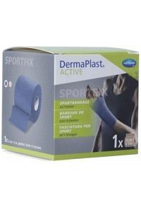 DERMAPLAST Active Sportbandage 6cmx5m blau