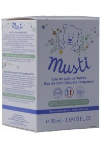 MUSTELA BB Musti Pflegewasser parfüm Vapo 50 ml