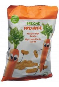 FRECHE FREUNDE Knusper-Flips Karotte Btl 30 g