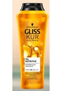 GLISS KUR Shampoo Oil Nutritive 250 ml