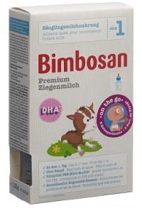 BIMBOSAN Premium Ziegenmilch 1 Reiseport 5 x 25 g