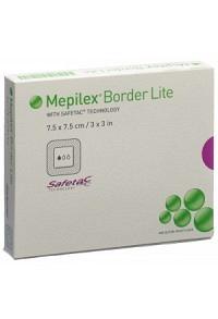 MEPILEX (PI-APS) Bor Lit Silikon 7.5x7.5cm 5 Stk