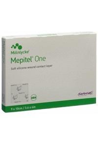 MEPITEL One Wundverband 9x10cm (skin tears) 5 Stk