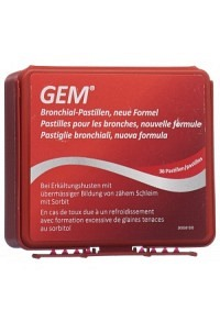 GEM Bronchialpast m Sorbit neue Form Ds 36 Stk