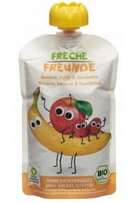 FRECHE FREUNDE Quetschmus Apfel Bana&Himb 100 g