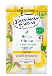 DRESDNER Portionenbad Display heisse Zitrone 12Stk