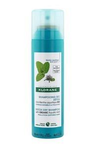 KLORANE Trockenshampoo Detox Wasserminze 150 ml