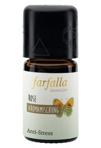 FARFALLA Aromamischung Rose Anti-Stress 5 ml