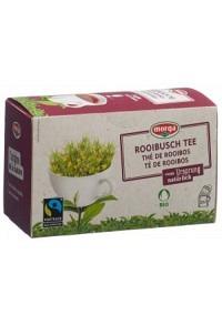 MORGA Rooibusch Tee m/H Bio Fairtrade Knos 20 Stk