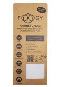 FOOGY Antibeschlag Reinigungstuch aus Mikrofasern