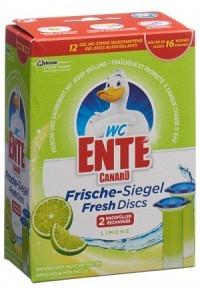 WC-ENTE Frische Siegel Nachfüller Limone 2 x 36 ml