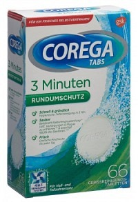 COREGA 3Min Cleanser Tabs 66 Stk