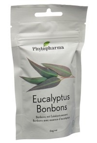 PHYTOPHARMA Eucalyptus Bonbons Btl 60 g