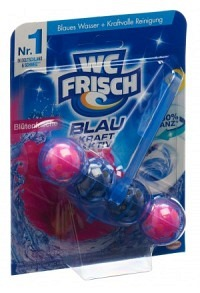 WC-FRISCH Kraft-Activ Blauspüler Blütenfri 50 g